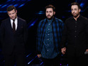 The X Factor star was sent home after a sing-off with Andrea Faustini.