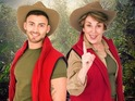 X Factor's Jake Quickenden and Edwina Currie become latest jungle campmates.