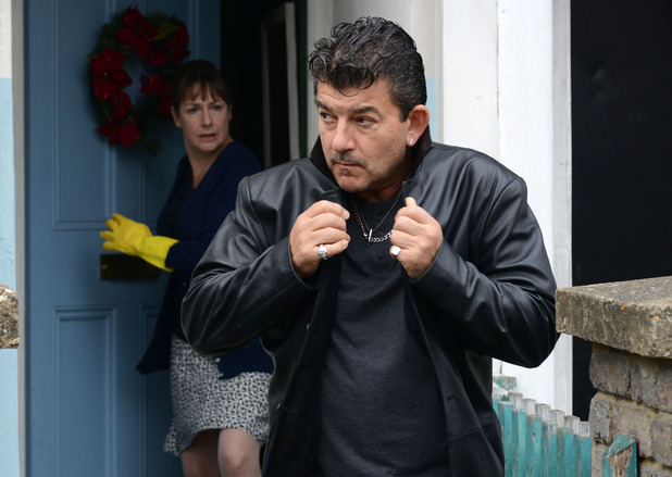 A panicked Yvonne tells Nick to get back inside the house