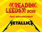 Metallica headline Reading & Leeds 2015