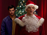 Taylor Lautner as Dale & Greg Davies as Ken in the Cuckoo Christmas special