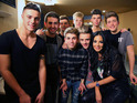 Tulisa didn't just choose Stereo Kicks' song this week - she came to help them.