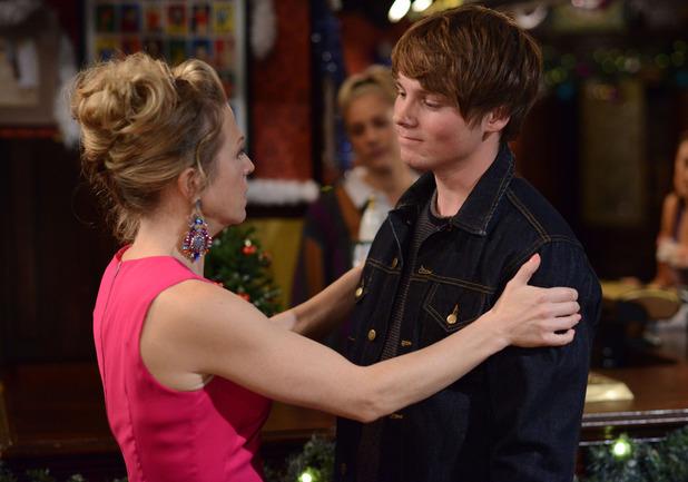 Linda says a tearful goodbye to Johnny.