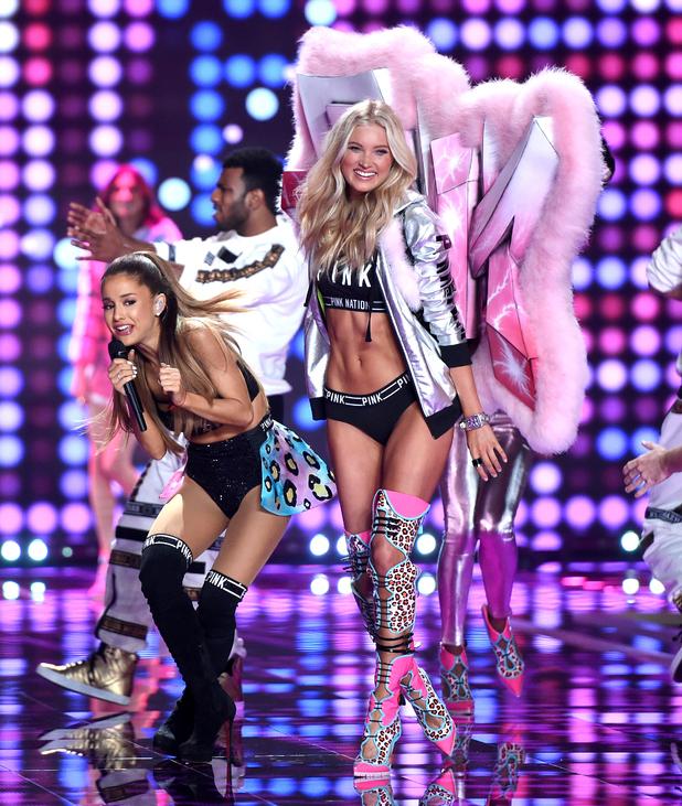 Victoria's Secret Fashion Show 2015 Ariana Grande Ariana Grande performs as