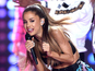 "Ariana ""smacked"" at Victoria's Secret gig"