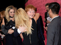 Goulding, Sheeran embrace at fashion show