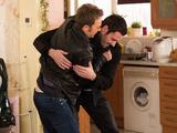 Callum and David fight