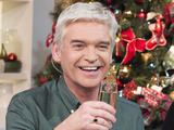 Phillip Schofield completes his Text Santa 24 hour marathon on This Morning
