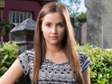 Jacqueline Jossa's presence in tonight's EastEnders leaves some viewers confused.