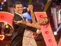 "The presenter admits that competing on Strictly ""was a tough few months""."