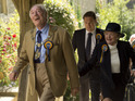 Michael Gambon as Howard Mollison & Julie McKenzie as Shirley Mollison in The Casual Vacancy