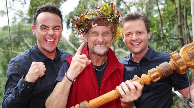 Carl Fogarty with Ant & Dec