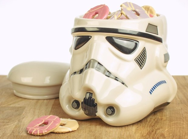 The ultimate movie christmas gift guide 14 cool presents for film geeks movies feature - Stormtrooper cookie jar ...