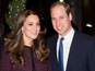 Will and Kate send cake to royal baby crowd