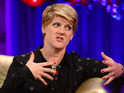 Clare Balding says that Angelina Jolie wants to help increase US coverage of the Paralympic Games.