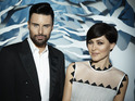 "Emma Willis and Rylan Clark get fancy ""living photos"" for Celebrity Big Brother."