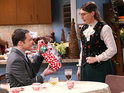 Amy hosts a special Victorian-themed Christmas party in this week's episode.