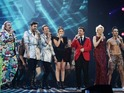X Factor brings back Wagner, Chloe Jasmine and more for comedic medley.
