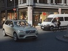 Volvo develops new bike helmet that warns cars when they're close by
