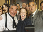 George Clooney unites Downton Abbey cast for amazing selfie