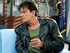 Charlie Sheen reprising Ferris Bueller's Day Off role in The Goldbergs