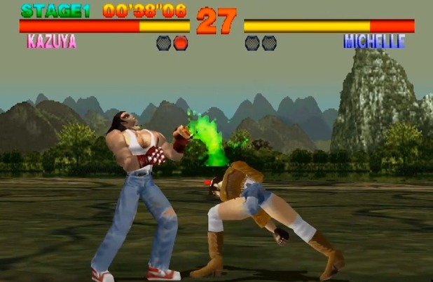 Tekken gameplay screenshot