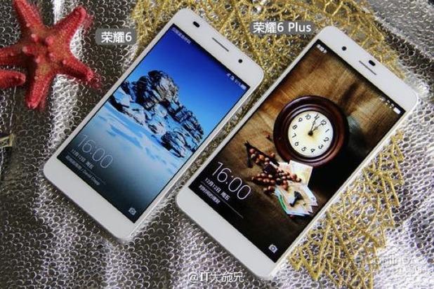 Huawei Honor 6 Plus smartphone