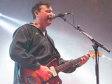 James Dean Bradfield of the Manic Street Preachers performs on stage at The Roundhouse