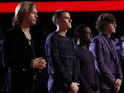 The Voice: Craig Wayne Boyd, Chris Jamison, Damien Lawson, Matt McAndrew with Carson Daly