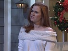 Watch Amy Adams spoof Love Actually on Saturday Night Live