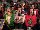 Watch One Direction get festive singing with Jimmy Fallon and The Roots