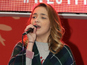 X Factor's Lauren surprises London shoppers