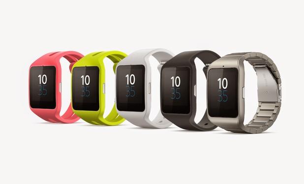 Sony's Smartwatch 3 range