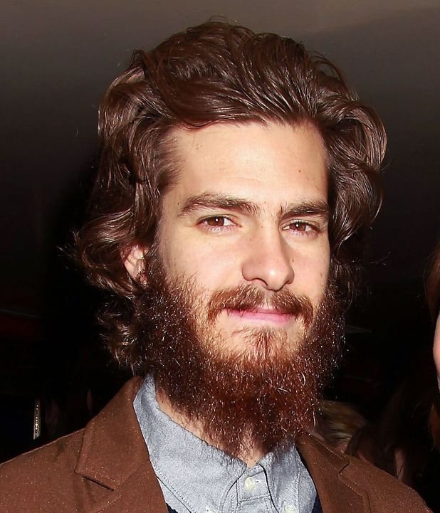 Andrew Garfield reveals hipster beard... Emma Stone doesn't seem to ... Andrew Garfield