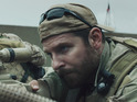 Clint Eastwood's war drama earns £2.5m in its second week to secure first place.