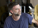Paul Thomas Anderson on the set of Inherent Vice