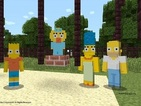 Minecraft trailer showcases The Simpsons skin pack for Xbox platforms