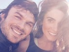 "Ian Somerhalder and Nikki Reed get married on ""beautiful"" California day"