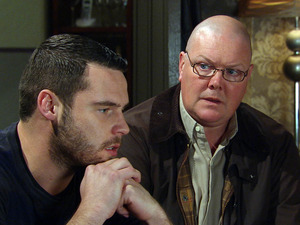 Aaron is sick of all the sneaking around and soon finds himself telling Paddy more than he means to.