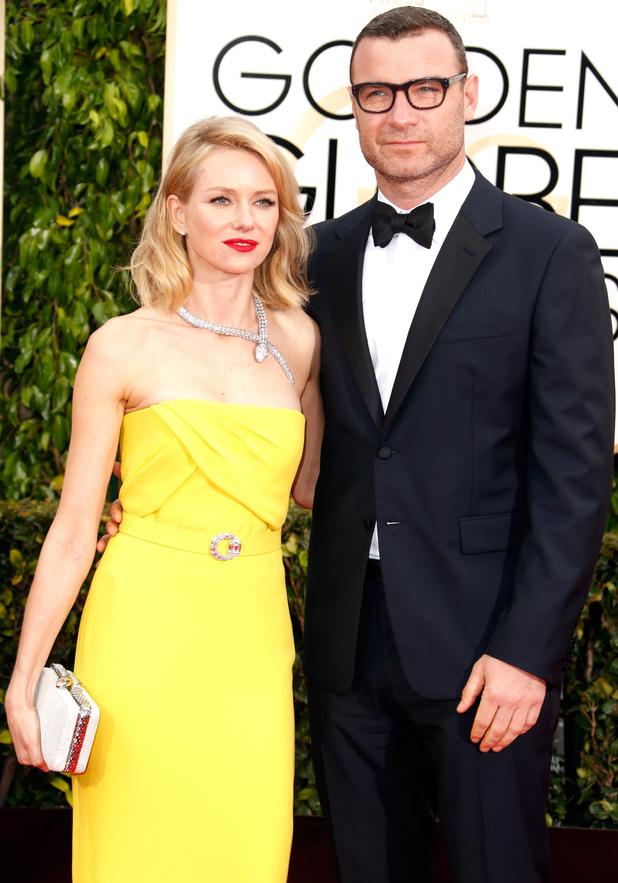 Previous Next Naomi Watts and Liev Schreiber arriving at the 72nd    Liev Schreiber And Naomi Watts