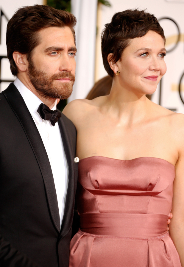 Previous Next Jake Gyllenhaal and Maggie Gyllenhaal arriving at the    Jake Gyllenhaal And Maggie Gyllenhaal Kiss