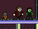 The Marvel Studios hit is the latest film reimagined as an 8-bit video game.