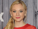 Emily Kinney poses in the press room during the 2014 American Country Countdown Awards