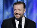Ricky Gervais mocks celebrity culture in return to the Golden Globe Awards.