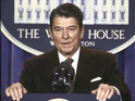 FX boss says ex-US president Ronald Reagan is prominent in Fargo season two.