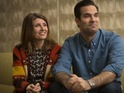 The pair, who have written and star in the new sitcom, talk to Digital Spy.