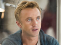 Tom Felton chats about trying to figure out the twists and turns in his new show.