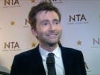 Video interview: NTA winner on the Tenth Doctor, Broadchurch and those Hannibal rumours.