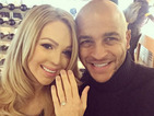 Katie Piper shows off engagement ring and fiancé in Instagram post