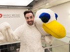 See Stevi Ritchie as a dancing albatross in the new AronChupa video